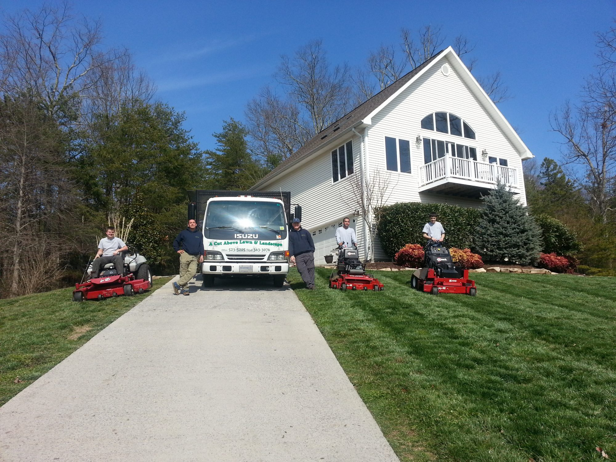 lawn care and landscaping knoxville - lawn mowing knoxville